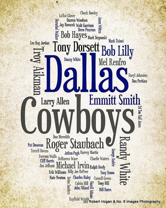 Players Dallas Cowboys All Names
