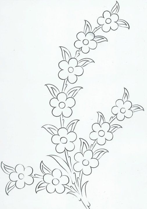 Patrones De Flores Para Bordar