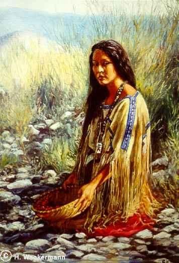 Native American Paintings Hubert Wackermann