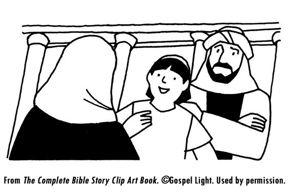 Young Jesus Teaching In The Temple Coloring Page