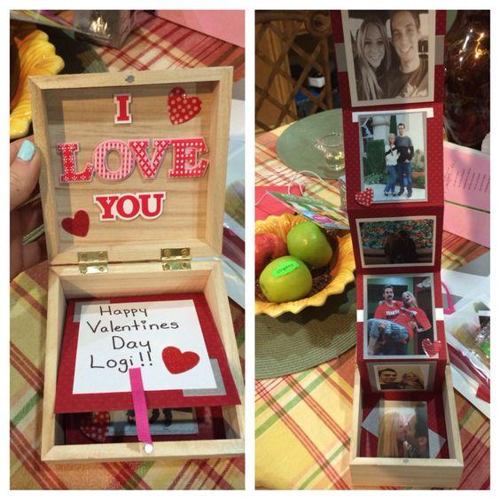 14 De La Del Dia El Madera Caja 14 En Febrero Febrero Amistad Para De Y De Arreglos Amor