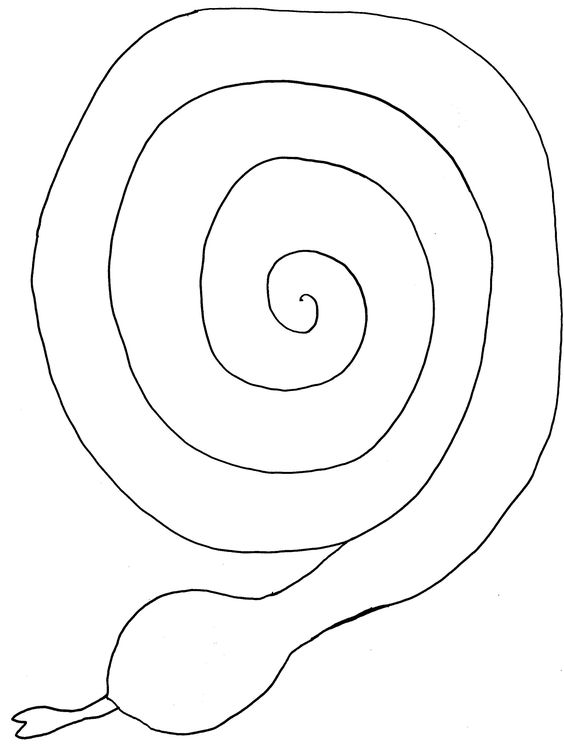 Pattern Board Game Spiral