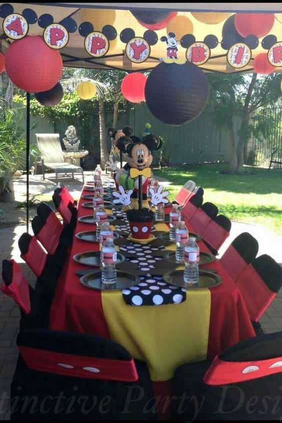 Mickey Mouse Party Decorations Mickey Mouse Parties And