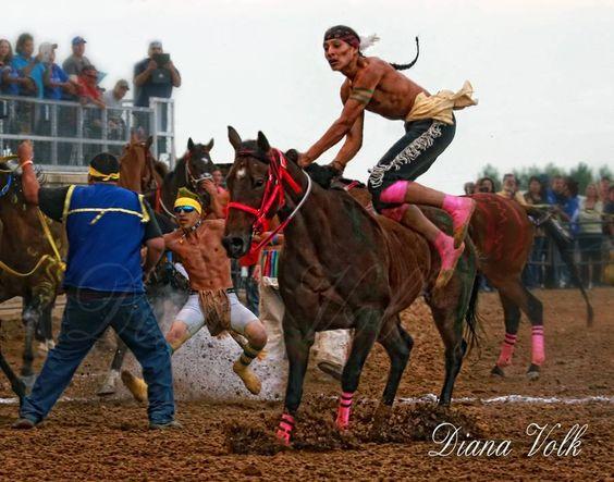 Indain Sheridan Wyoming Race Relay