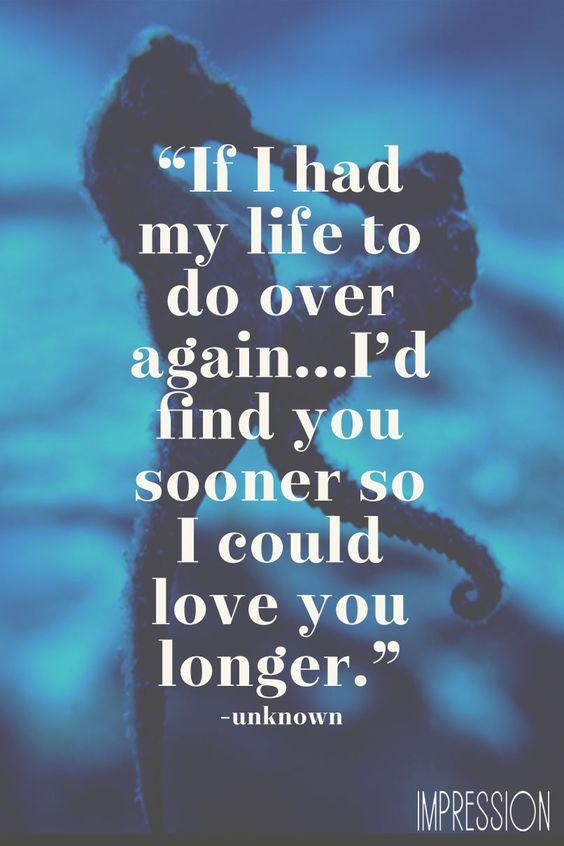 Met You Sooner I Wish I
