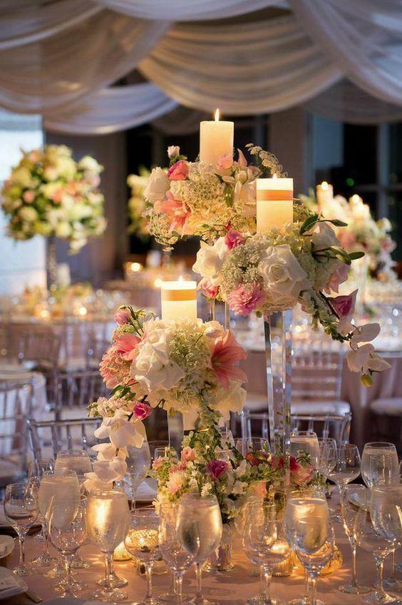 Creative Centerpieces Wedding Receptions