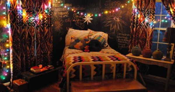 Artsy Bedroom Would Be A Fun Guest Room For The Home