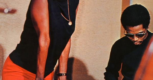 Miriam Makeba hanging with the Bongo player. Smart lady ...