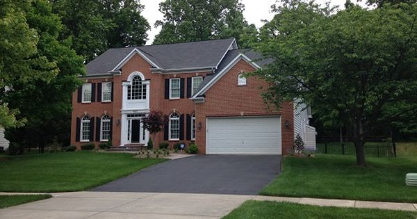Repaint House Ideas Red Brick Colonial Google Search