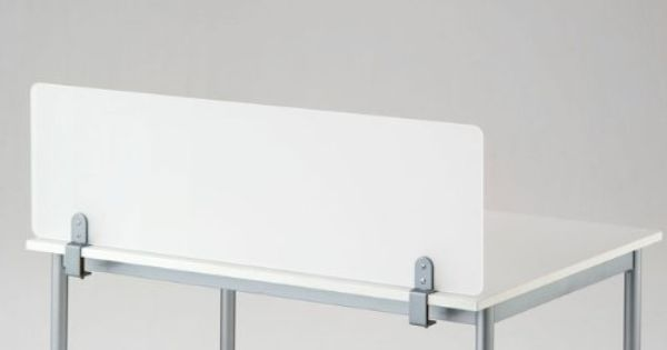 Amazon Com Clamp On Desk Top Divider Frosted Acrylic
