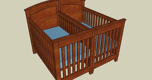 Crib For Twins Plans Crib Plans Cradle Plans