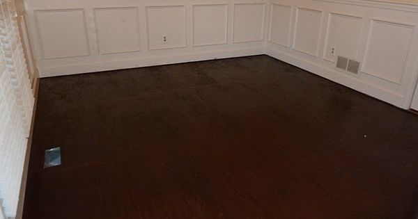 How To Stain A Subfloor But Make It Look Like A Hardwood