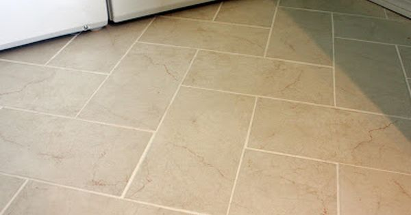 Rectangular Tile Floor Patterns That Half Of It Is Under