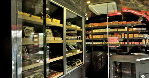 Mobile Cigar Shop Amp Lounge In An Airstreamer Cigar