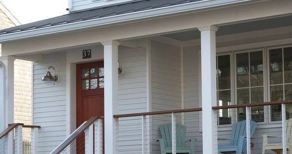 Cable Wire Railing House Exterior Pinterest Cable