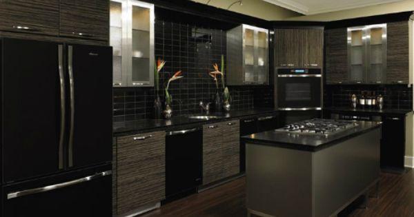 Black And Silver Kitchen Designs 925 Jpg 500 215 375 Home