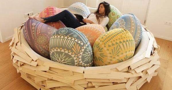 Bird Nest Is The New Bean Bag Eggchair Chair Love