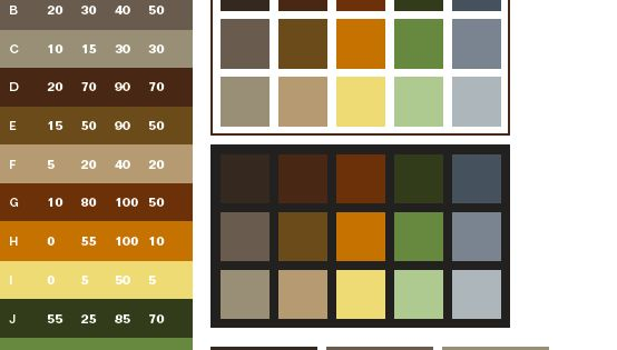 Earthtone Colors Come From Natural Things Around Us Brown