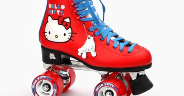 Hello Kitty x Moxi Roller Skates: Red I would totally risk ...