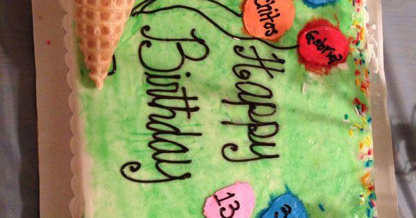 Multiple People Birthday Cake Cake Lady S Creation