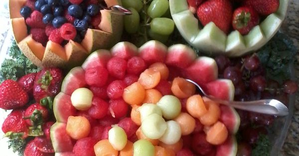 Mickey Mouse Fruit Platter Great Party Ideas Pinterest