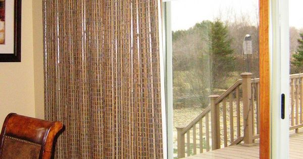 Patio Door Window Treatments Provenance Woven Wood
