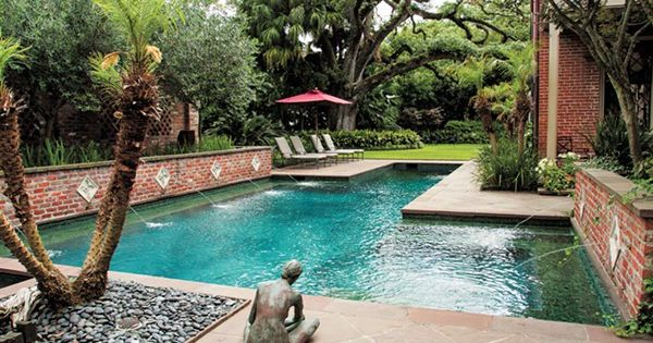 New Orleans Best Pools A Lap Pool Hot Tub Wading Pool