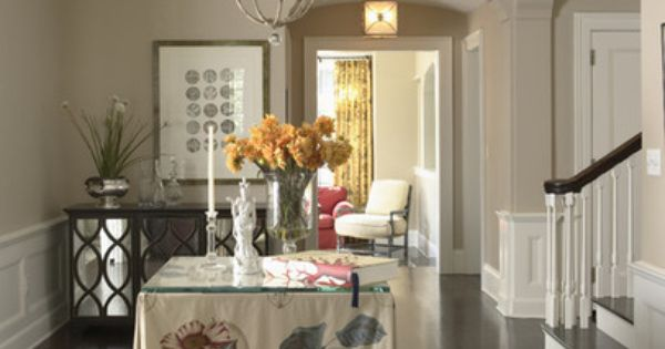Living Room Paint Colour Benjamin Moore Wheeling Neutral