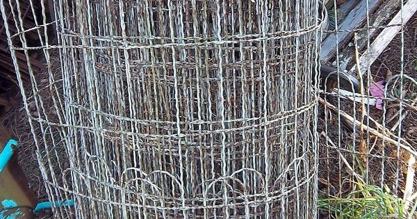 Garden Yard Wire Fencing Hairpin 1920s Cottage Style Wire