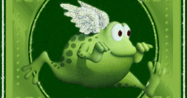 outta my way its friday frog with wings Pictures, Images ...