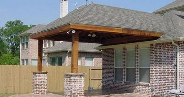 Building A Hip Roof Patio Cover Patio Roof Designs