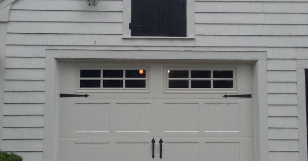 Haas Model 660 Steel Carriage House Style Garage Door In