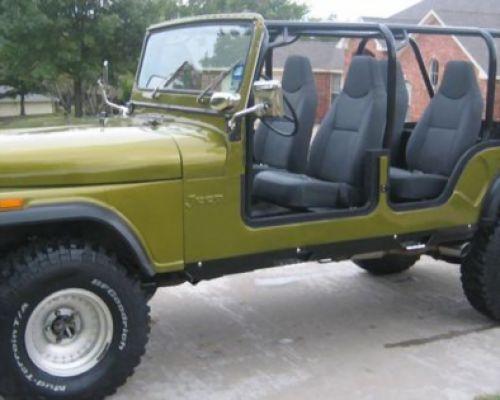 Classic 2 Doors Jeep CJ4 For Sale # ...