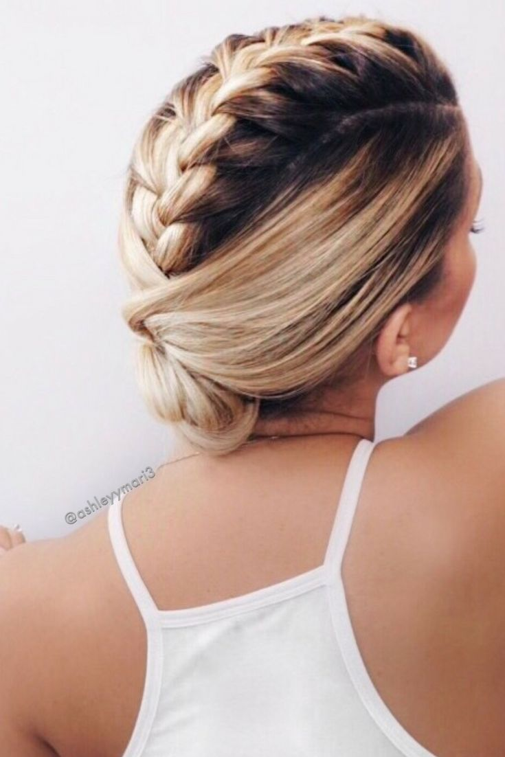 Short French Braid Hairstyles Page 1