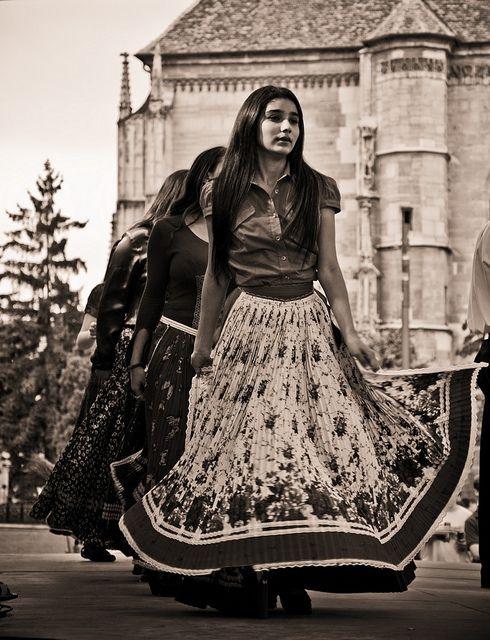 Woman Romanian Gypsy Culture