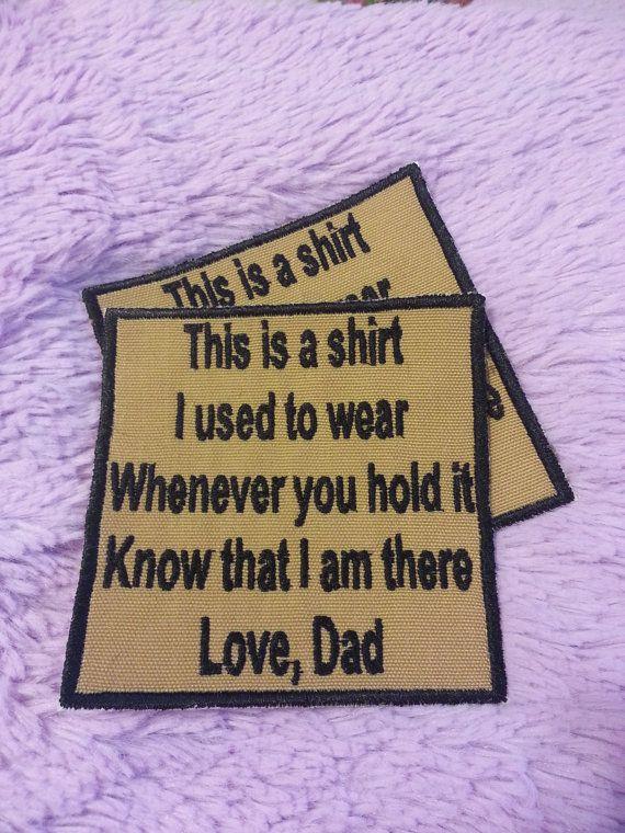 Memory Shirts Ideas