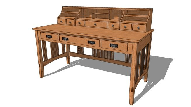 Table Warehouse Coffee 3d