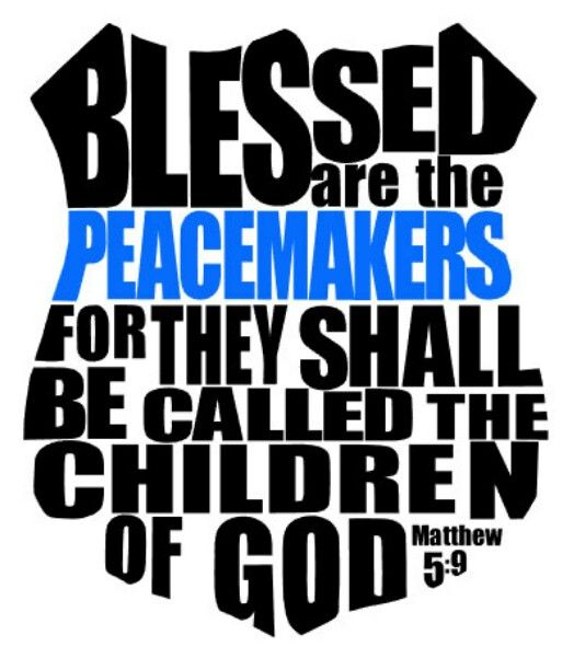 Blessed Are Peacemakers Tattoo