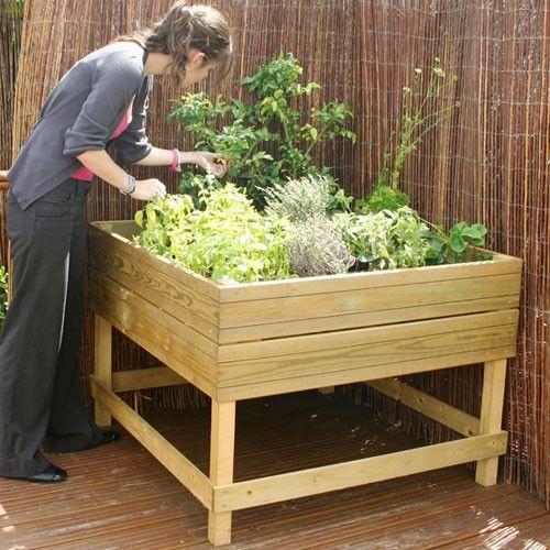 Vegetable Box Garden Build