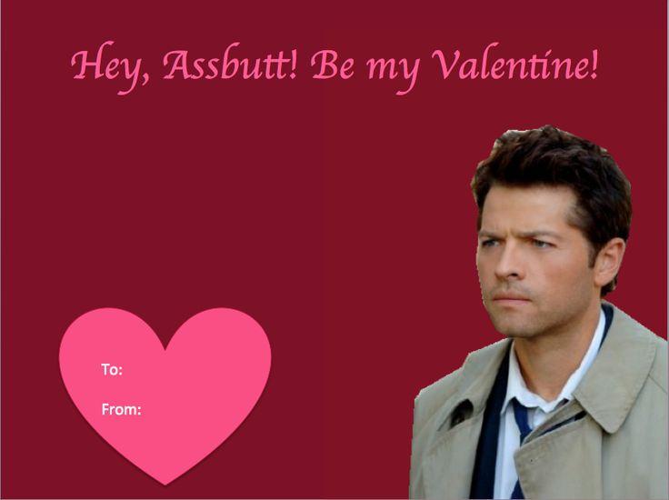 Supernatural Castiel Birthday Cards