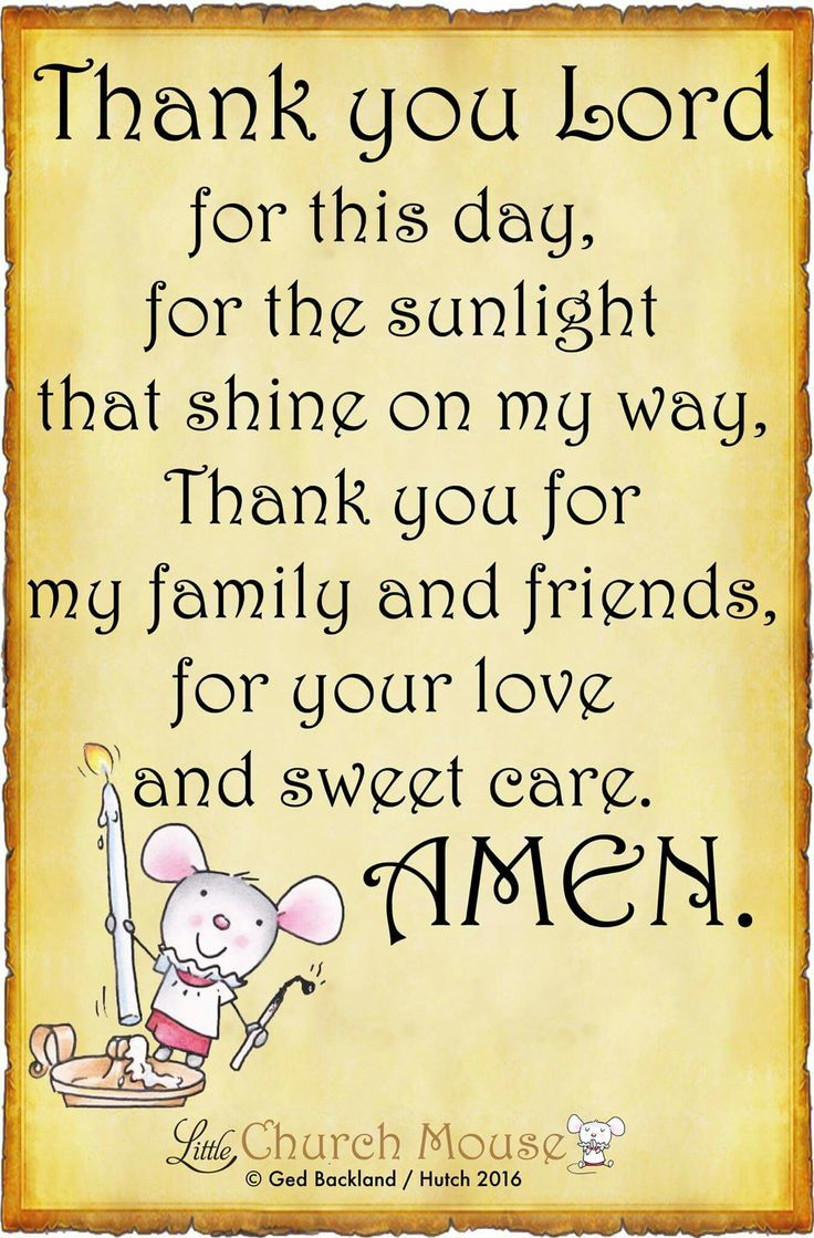 Blessings Quotes Your Thank You Lord Me