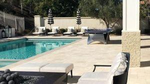Celebrity Homes Kylie Jenner's Backyard Pool