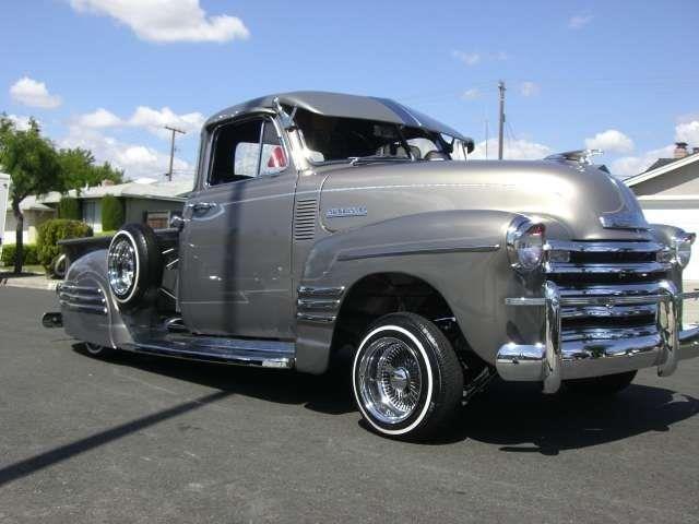 Chevy Truck 1953 Lowrider