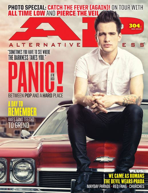 Cover Page Brendon Urie