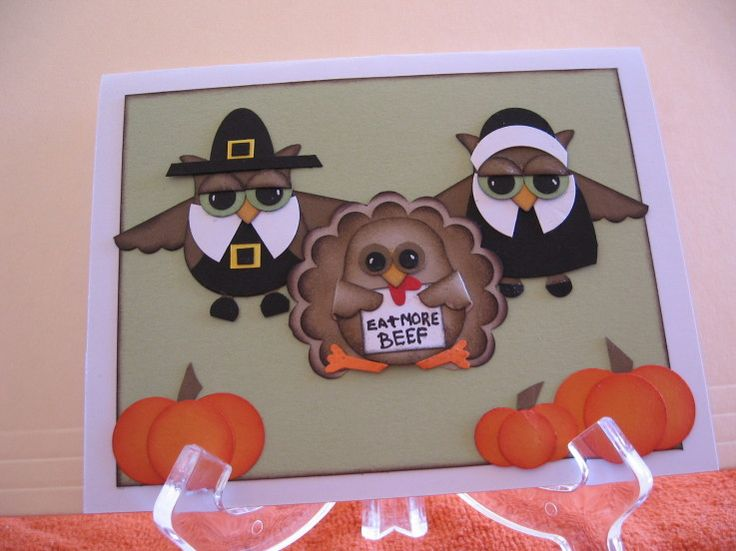 Fall Stampin Ornament Punch Ideas