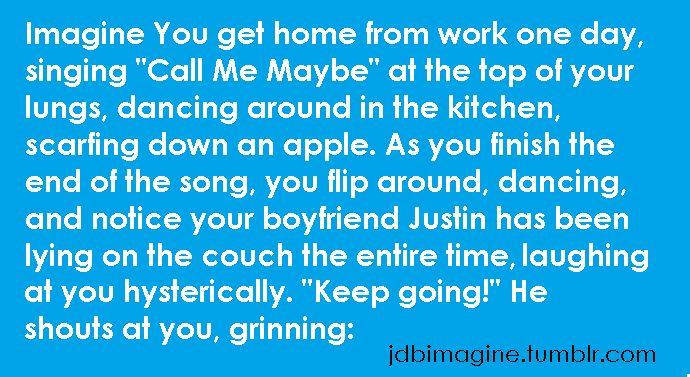 Justin Imagines Bieber Romantic