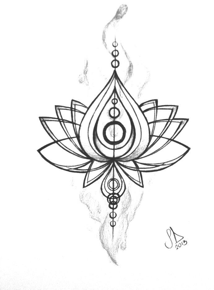 Flower Meaning Lotus Tattoo Unalome