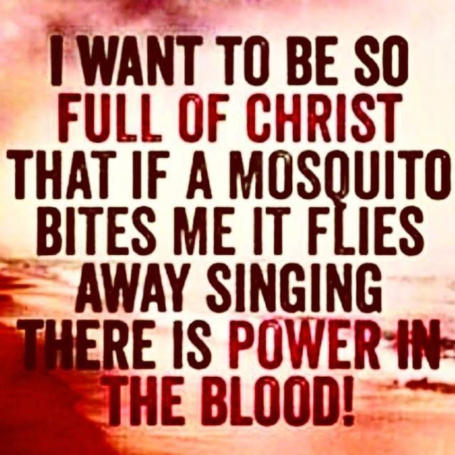 Be Want Mosquito Christ Me So Bites When I Full