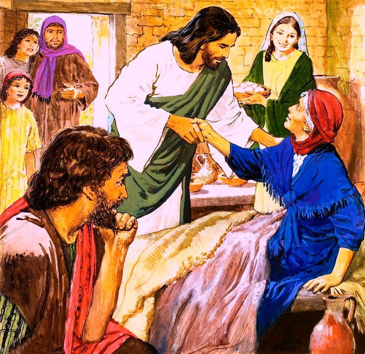 Heals Mute Deaf Jesus