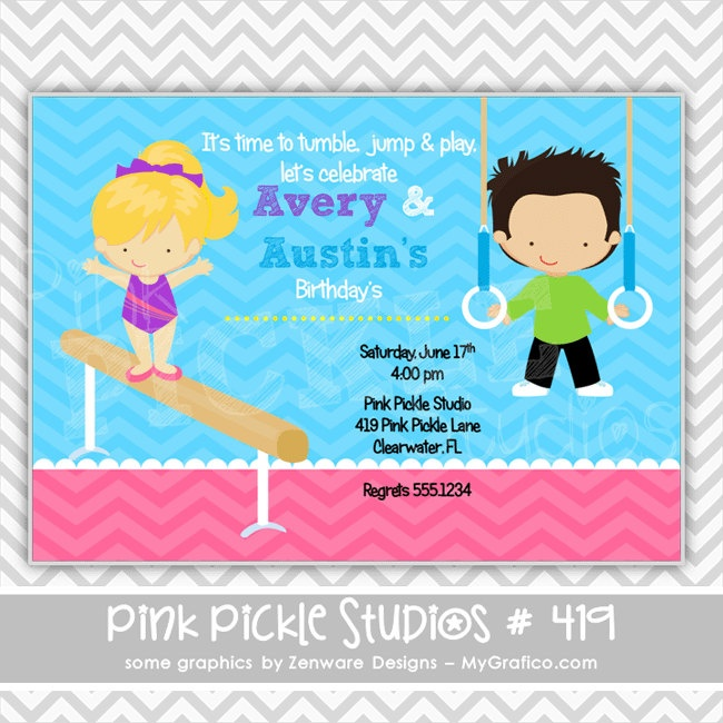 Printable Kite Invitations